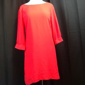 Heart soul red with white bow (on back) dress